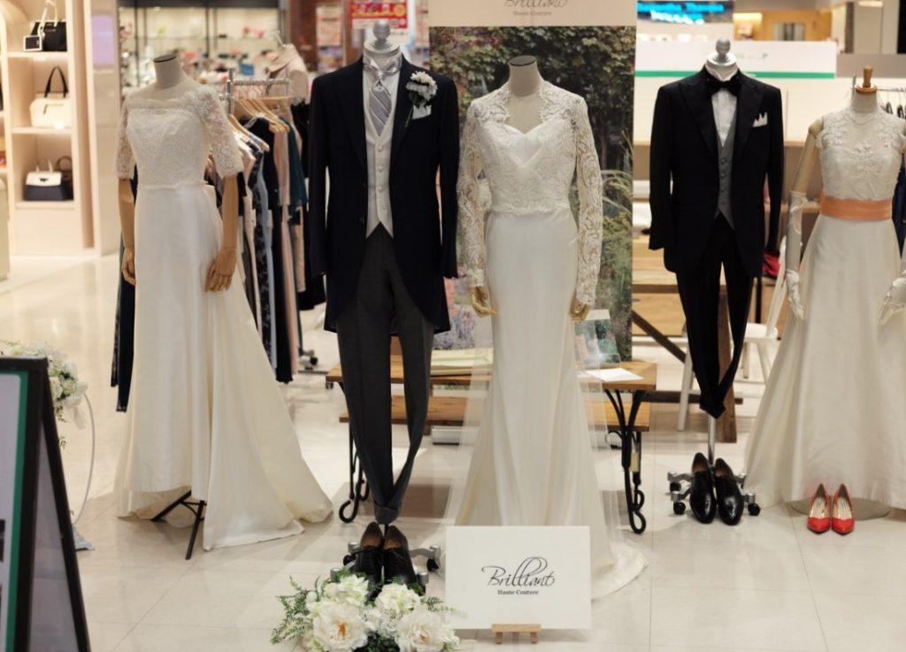 77a055c6225fe BRUNO WEDDING(ブルーノウェディング)です。 本日よりBRUNOのスーツリペア型オーダーモーニングを、マルイ静岡店にて展示・予約販売会を開催 しております。
